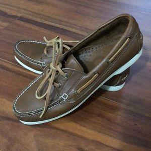 Women's 8.5 Bass boat dock shoes moccasins